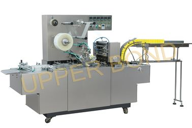 China Semi - Automatic Cigarette Packing Machine For BOPP Film And Anti - Fake Tear Tape supplier