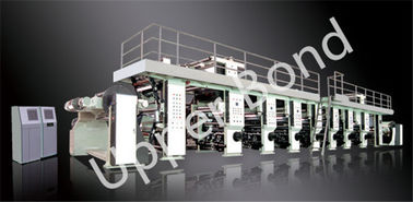 China 180 m/min Tinted High Speed Computer Gravure Printing Machine For BOPP , PET , PE distributor
