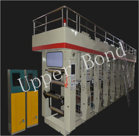 China Intermediate Speed 120 m / s Printing Press Machines for PVC CPP distributor