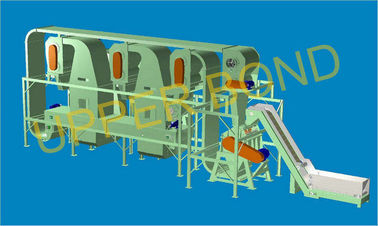 China Cigarette Production Tobacco Threshing Machine , Horizontal Type With PLC factory