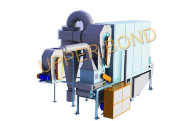 China 0.35 - 0.7 MPa Hot Air Fluidized Cut Tobacco Drier Cigarette Production Machine distributor