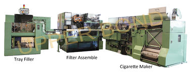China 50KVA MK9 Maker Cigarette Packaging Machine Green With Siemens Touch Screen factory